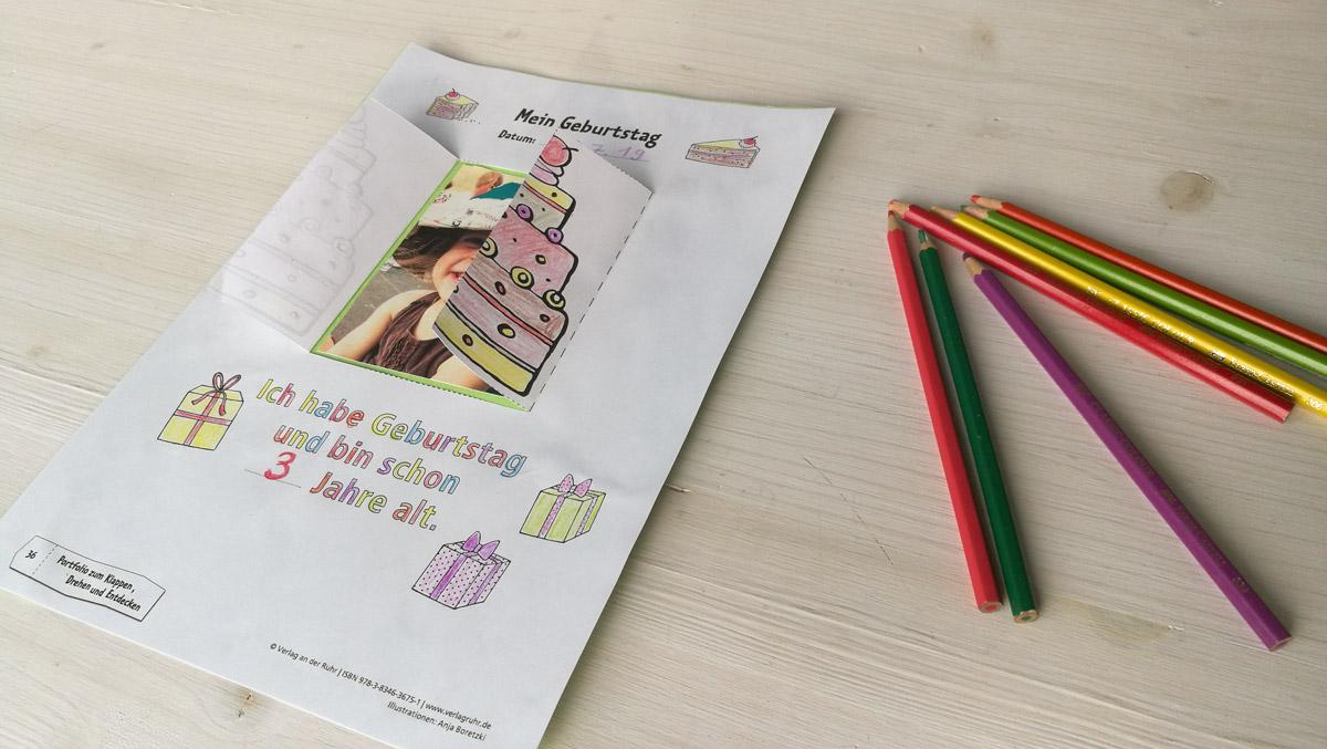 Geburtstagsportfolio