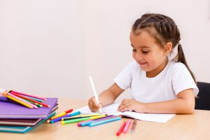 Kreative Malvorlage für Vorschulkinder