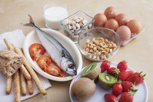 Lebensmittel bei Allergien ersetzen