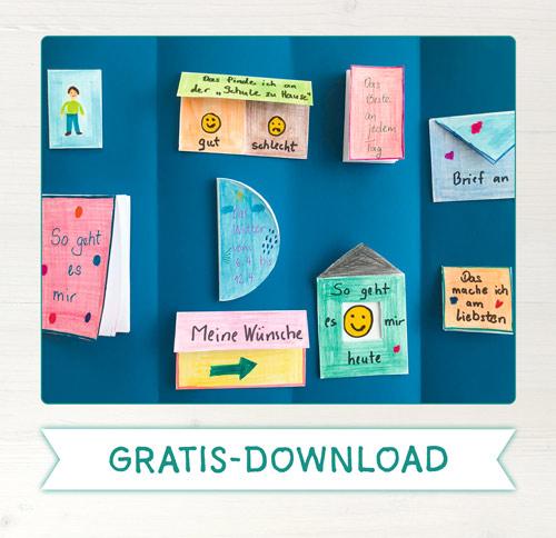Mini-Bücher für Lapbook & Co.