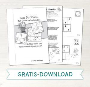 Gratis-Download Sudokus für die Grundschule