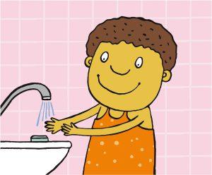 Das Coronavirus und das richtige Händewaschen