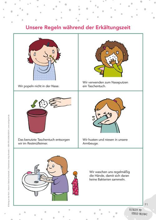 Unsere Regeln während der Erkältungszeit