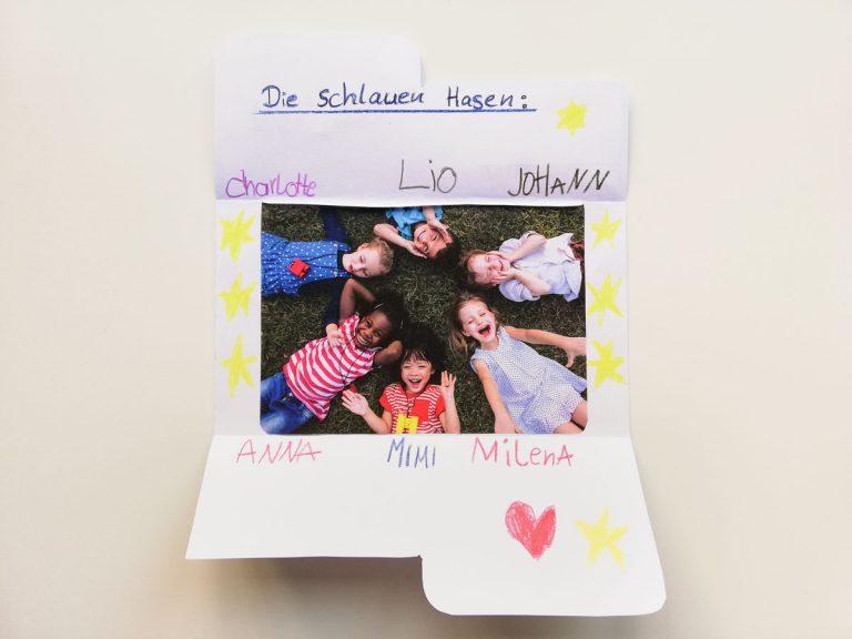 Minibuch für Vorschulkinder