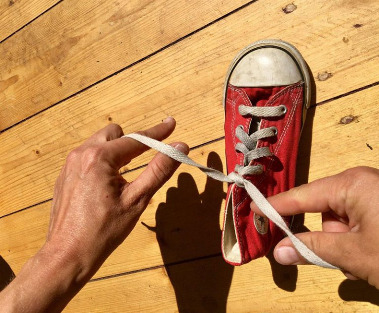 Anleitung: Schleife binden schnell und einfach