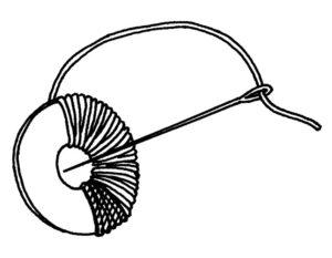 Pompons wickeln