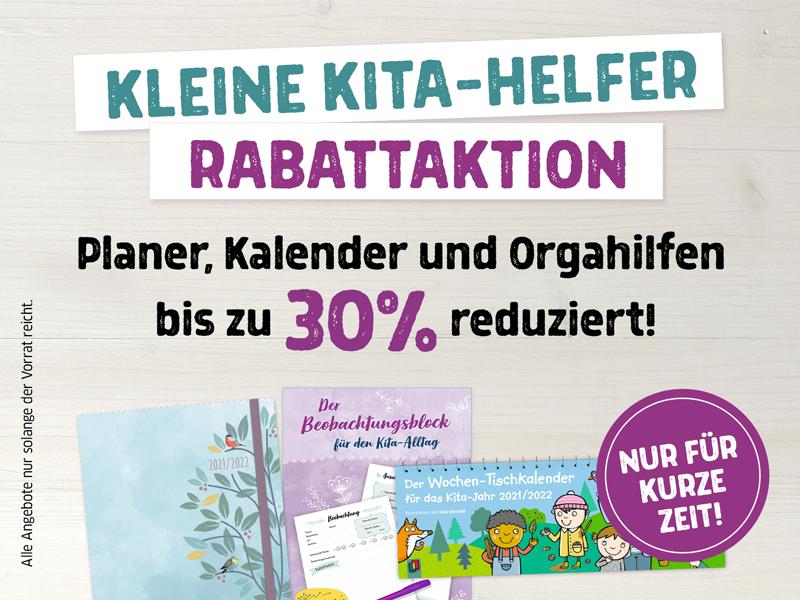 Rabattaktion – Kleine Kita-Helfer